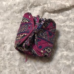 Boysenberry Vera Bradley jewelry case